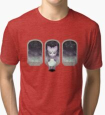 Mystic Miku | Crystal Ball & Zodiac | Light Grey Tri-blend T-Shirt
