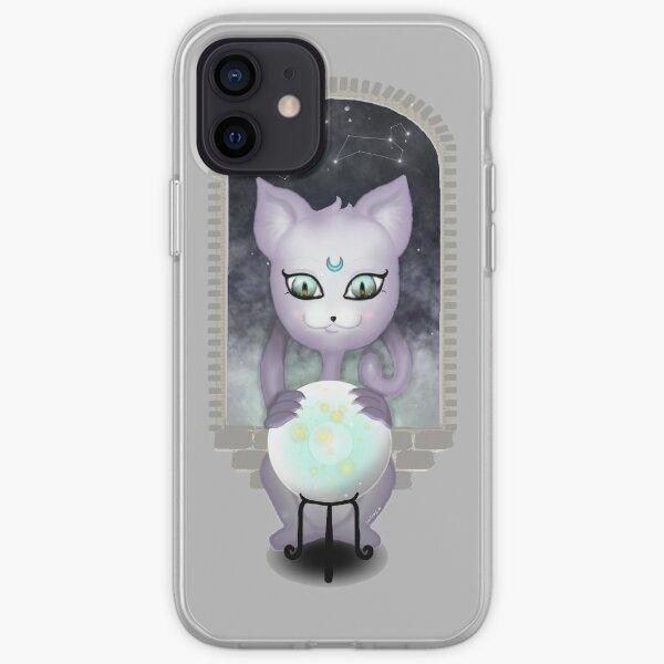 Mystic Miku | Crystal Ball & Zodiac | Light Grey iPhone Soft Case