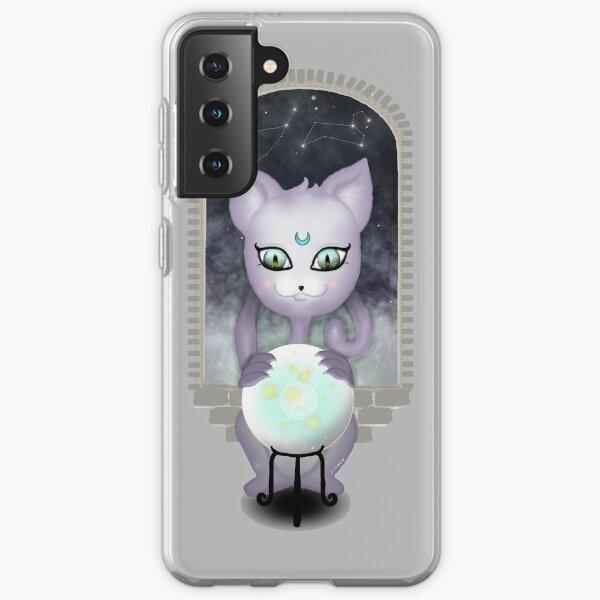 Mystic Miku   Crystal Ball & Zodiac   Light Grey Samsung Galaxy Soft Case