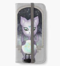 Mystic Miku | Crystal Ball & Zodiac | Light Grey iPhone Wallet/Case/Skin