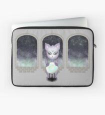 Mystic Miku | Crystal Ball & Zodiac | Light Grey Laptop Sleeve