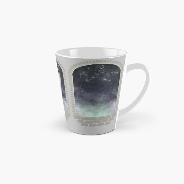 Mystic Miku | Crystal Ball & Zodiac | Light Grey Tall Mug