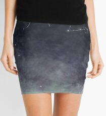 Mystic Miku | Crystal Ball & Zodiac | Light Grey Mini Skirt
