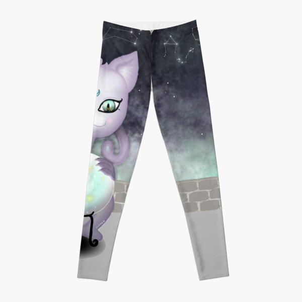 Mystic Miku   Crystal Ball & Zodiac   Light Grey Leggings