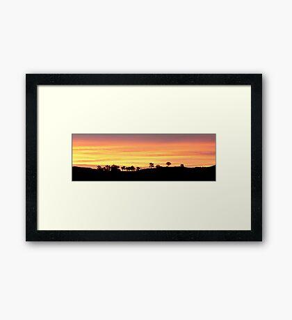 Painter's Canvas Framed Print