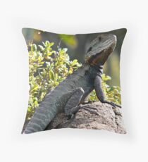 Rock King Throw Pillow