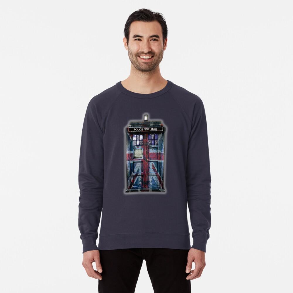 Union Jack Öffentliche Telefonzelle Leichter Pullover
