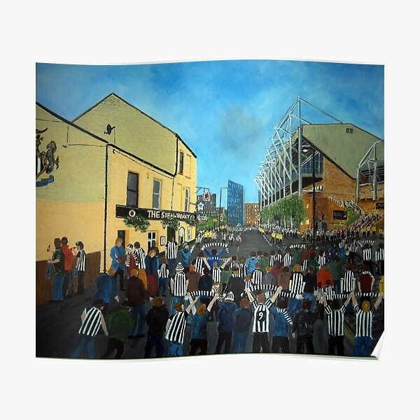 Toon Army, Newcastle United Poster