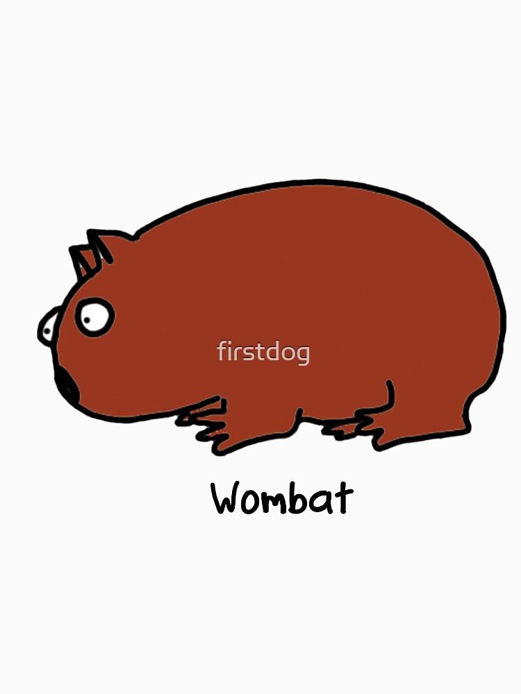 Interested Wombat | Unisex T-Shirt