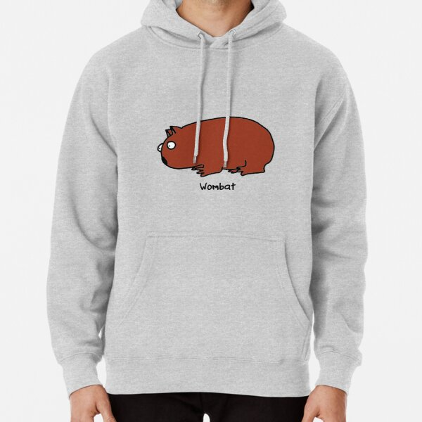 Interested Wombat Pullover Hoodie