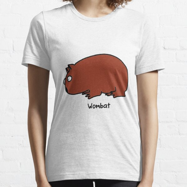 Interested Wombat Essential T-Shirt