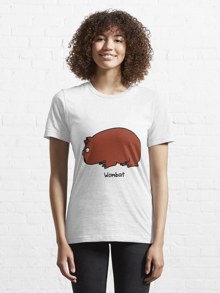 Alternate view of Interested Wombat Essential T-Shirt