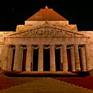Shrine of Remembrance, Melbourne by Hicksy