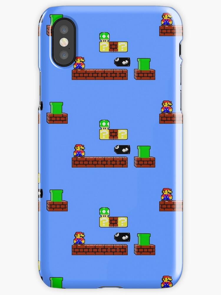 Pixel Nes Mario by Daniel Shaw