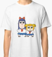 Pop Team Epic Pipimi & Popuko  Classic T-Shirt
