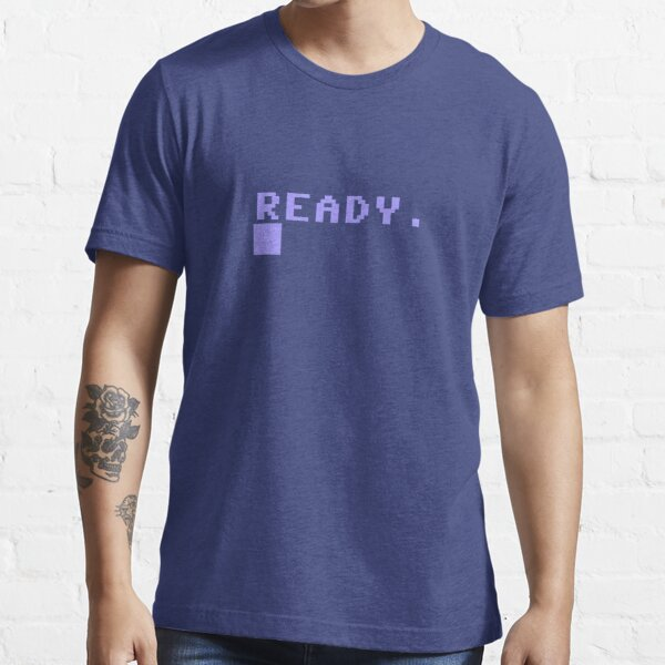 Commodore C64 Power On Prompt Essential T-Shirt