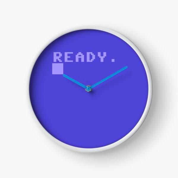 Invite de mise sous tension du Commodore C64 Horloge