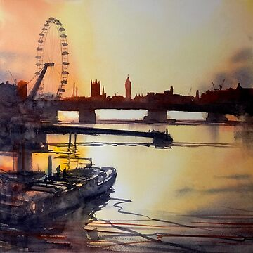 Thames Sunset by LordOtter