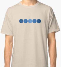 Five Blue Dots  Classic T-Shirt