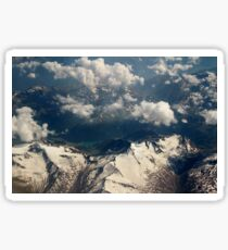 Snowy Mountains Sticker