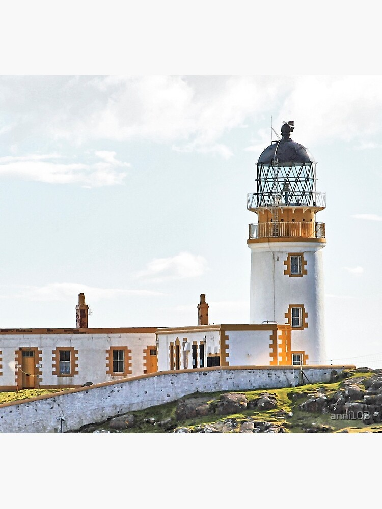 Lighthouse at Neast Point, Isle of Skye, Scotland by anni103