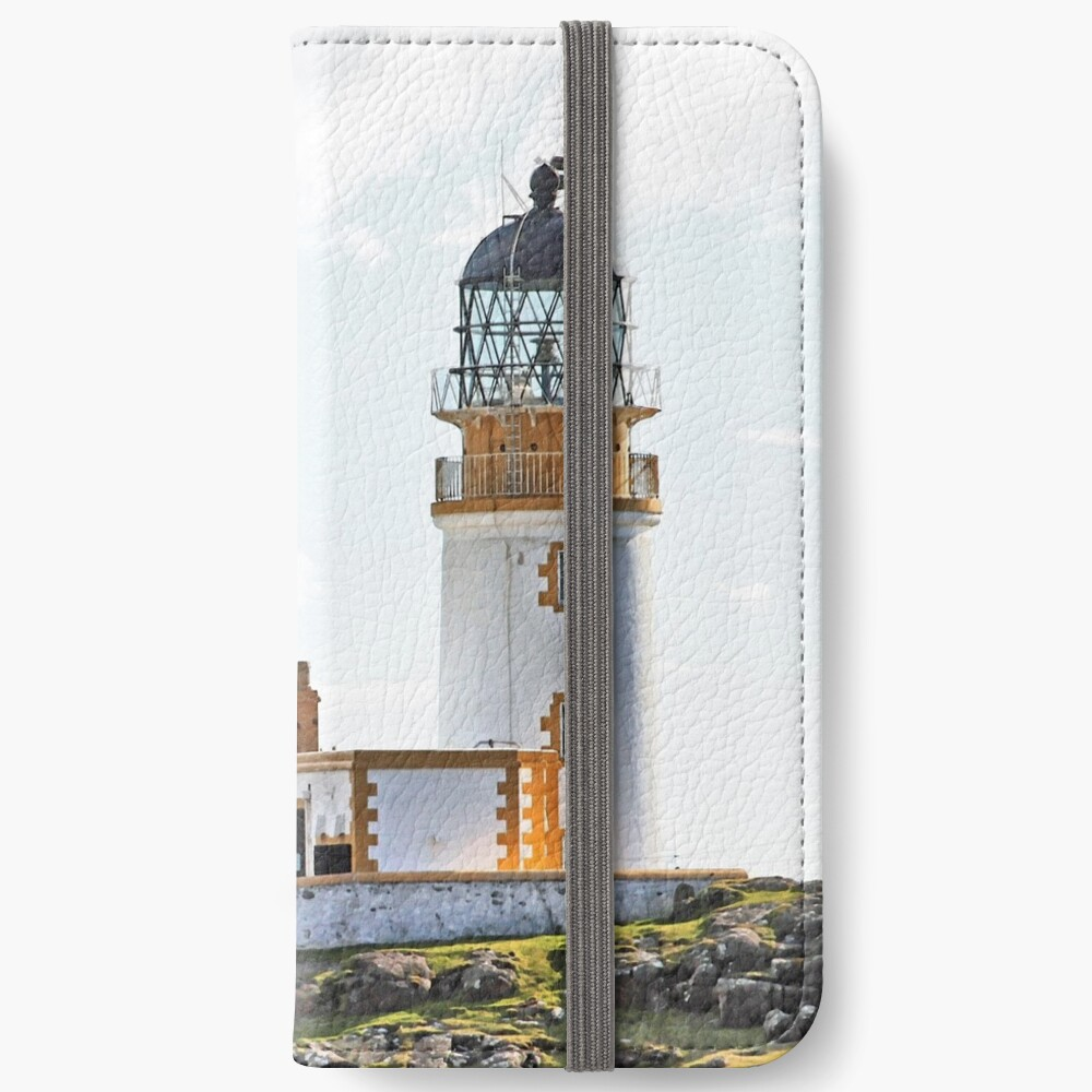 Lighthouse at Neast Point, Isle of Skye, Scotland iPhone Wallet