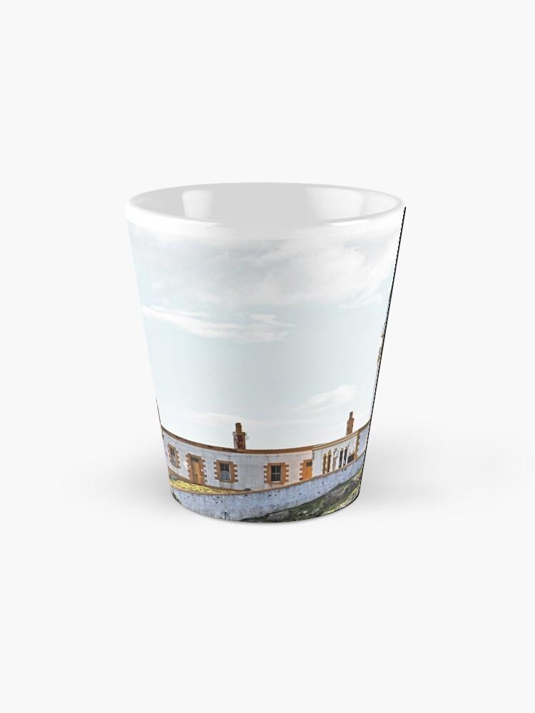 Alternate view of Lighthouse at Neast Point, Isle of Skye, Scotland Mug