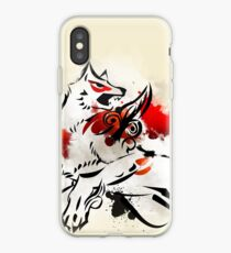 Okami: Amaterasu Art Print iPhone Case