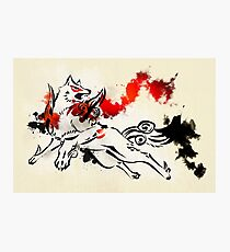 Okami: Amaterasu Art Print Photographic Print