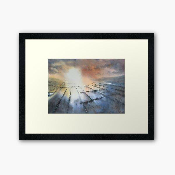 Somerset Flood Framed Art Print