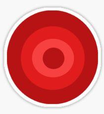 Red Target  Sticker