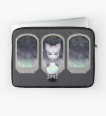 Mystic Miku | Crystal Ball & Zodiac | Dark Grey Laptop Sleeve