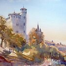 The Tower of Serralunga d'Alba by Henry Jones