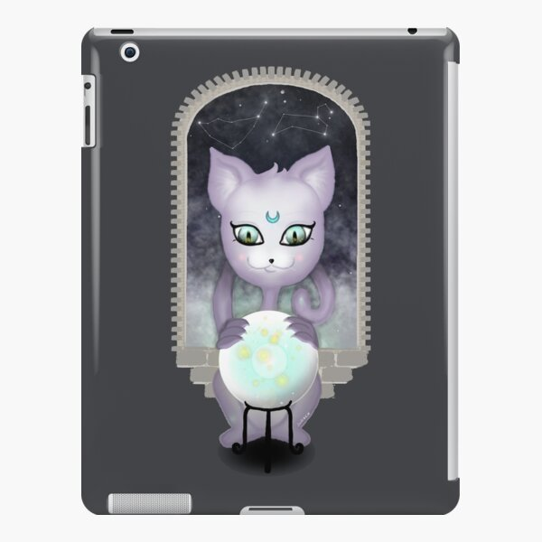 Mystic Miku   Crystal Ball & Zodiac   Dark Grey iPad Snap Case