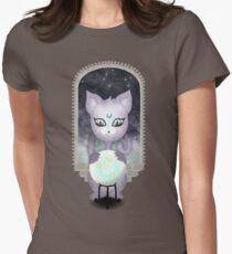Mystic Miku   Crystal Ball & Zodiac   Dark Grey Fitted T-Shirt