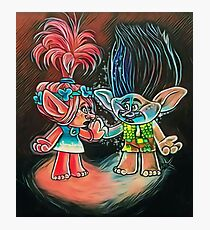 Trolls True Colors  Photographic Print
