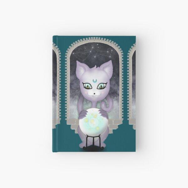 Mystic Miku | Crystal Ball & Zodiac | Teal Hardcover Journal