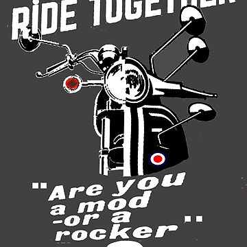 mods & rockers by dawnandchris