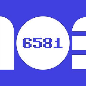 Geekdom [C64] - MOS Sid Chip 6581 by ccorkin
