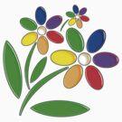 Spring Flower Design by bmgdesigns