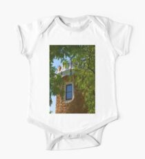 Fairy Tale Building Through the Trees - Impressions Of Barcelona Kids Clothes