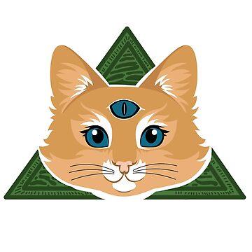 Illuminati Cat by hammermnn