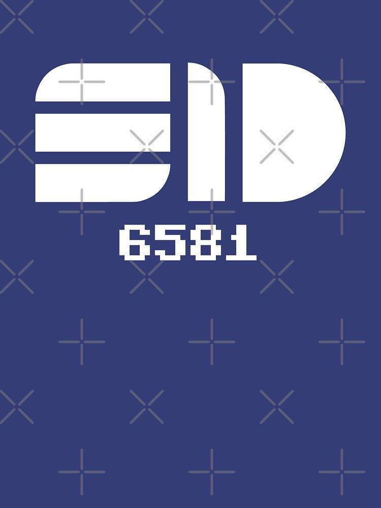 SID Chip 6581 by ccorkin