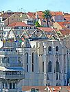Convento do Carmo. (view from Lisbon castle) by terezadelpilar ~ art & architecture