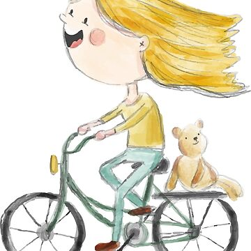 Cycling Girl by krimons