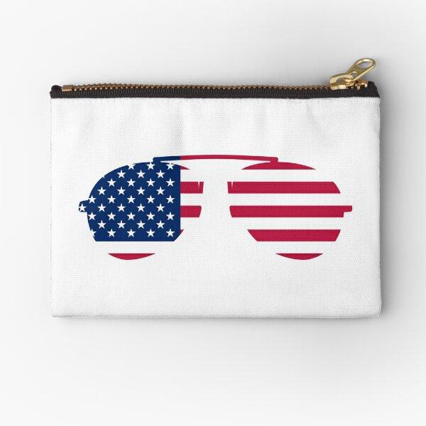 USA Sunglasses  Zipper Pouch