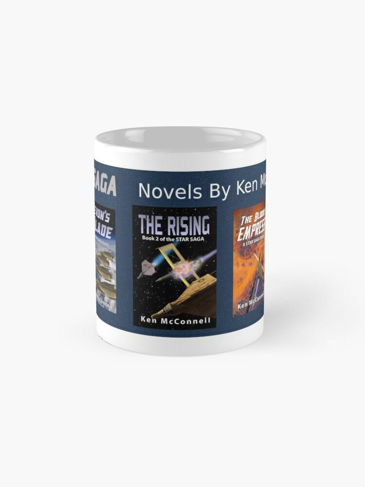 Alternate view of Star Saga Novels (Book Covers) Vol 1 Mug