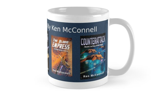 Star Saga Novels (Book Covers) Vol 1 by Ken McConnell
