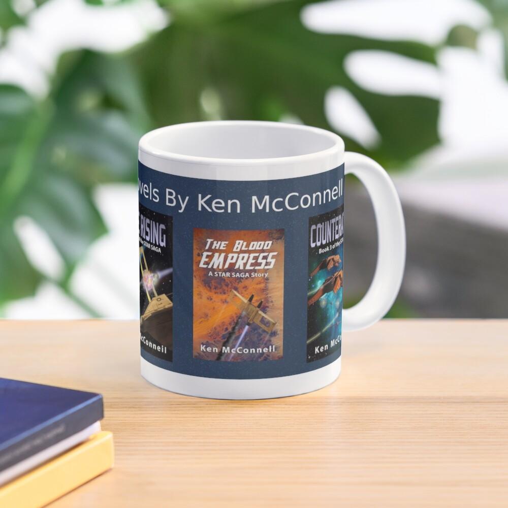 Star Saga Novels (Book Covers) Vol 1 Mug
