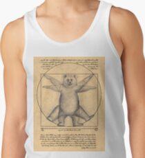The vitruvian bear Tank Top